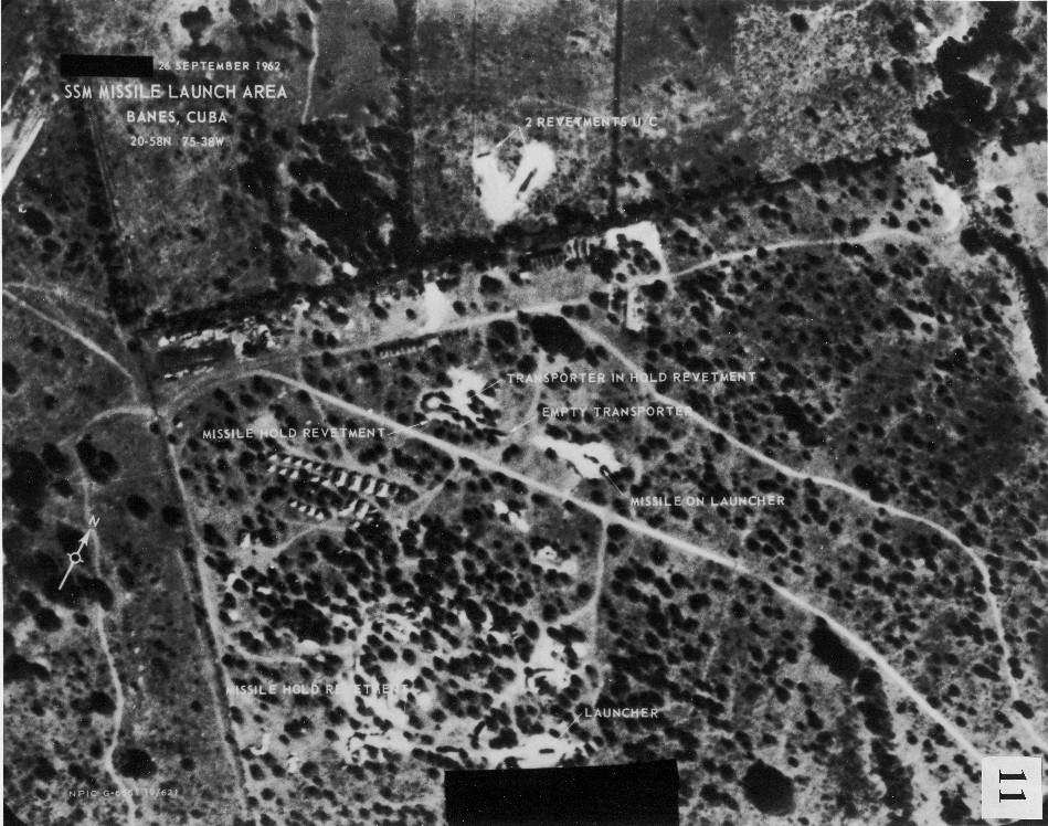 Actual U-2 Photograph of 1962 Cuban Missile Site