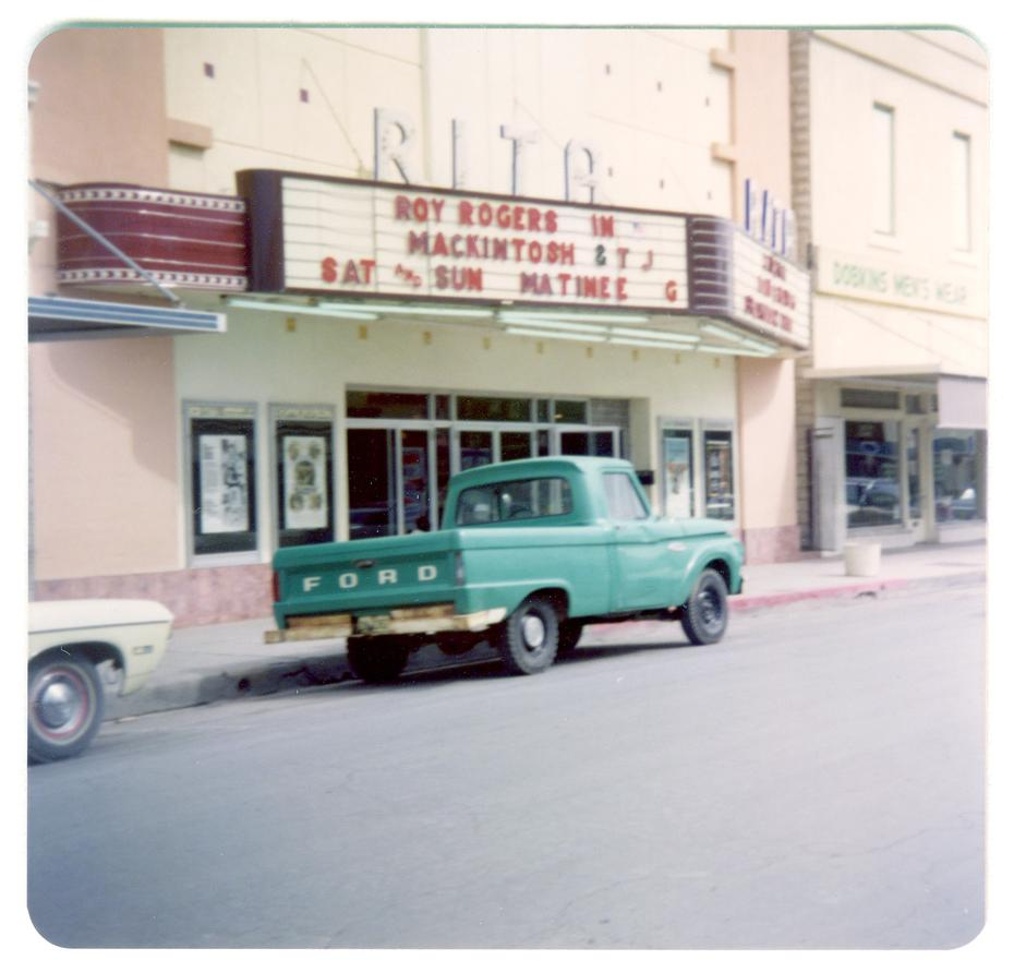 The Rita Theater in the 1970s (Courtesy Portal to Texas History)