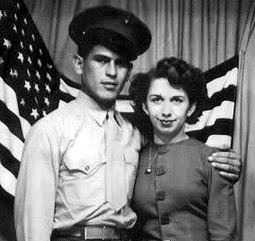 "Eyewitness J. R. ""Milo"" Ponce (left) with his wife Olga"